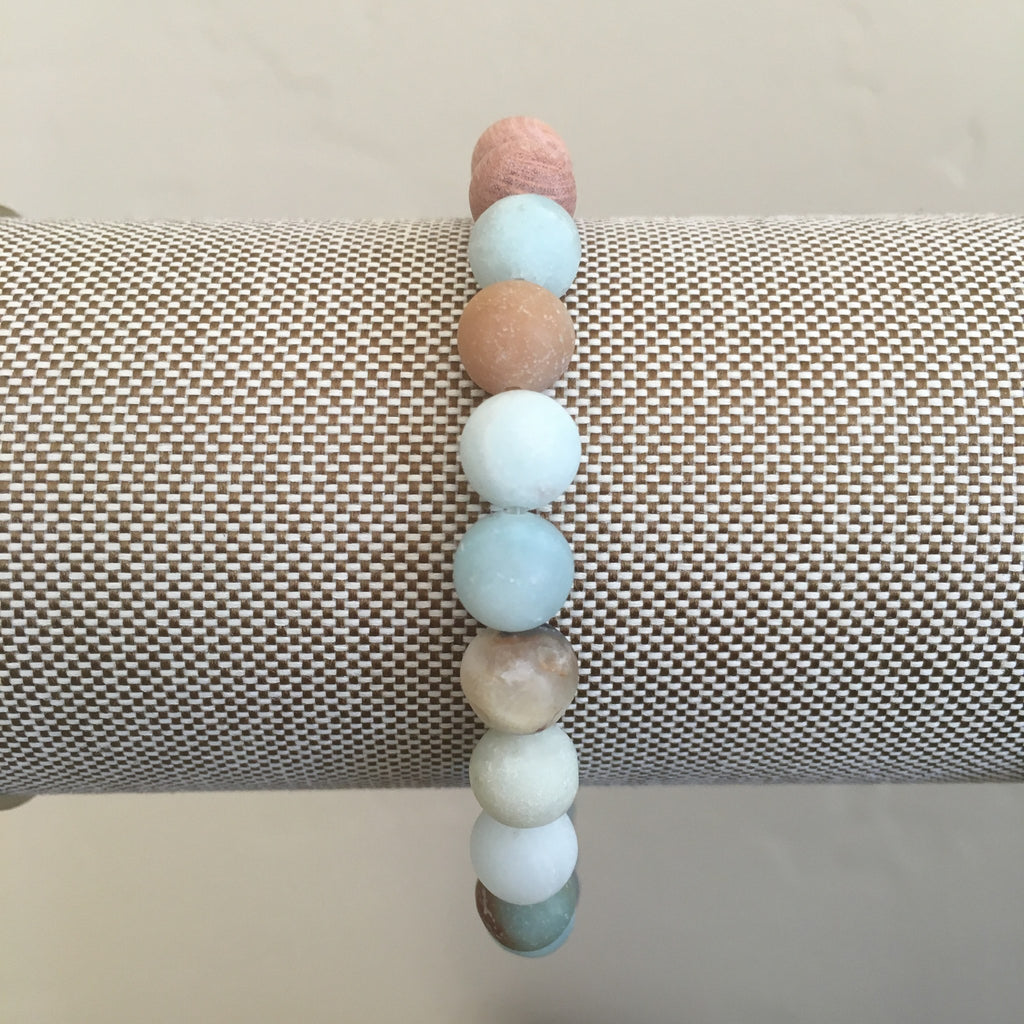 Jewelry - Diffuser Bracelet - Amazonite And Rosewood