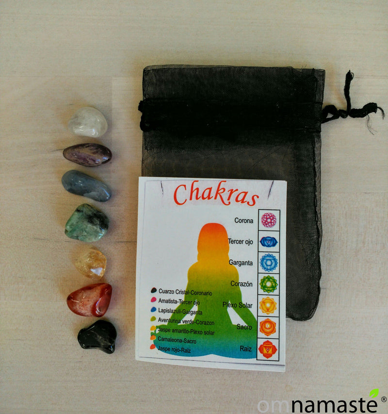 Pack 7 Minerales Chakras