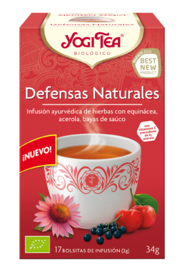 YogiTea Defensas Naturales x OmNamasté®