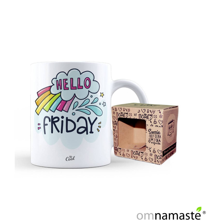 "Taza ""Hello friday"""