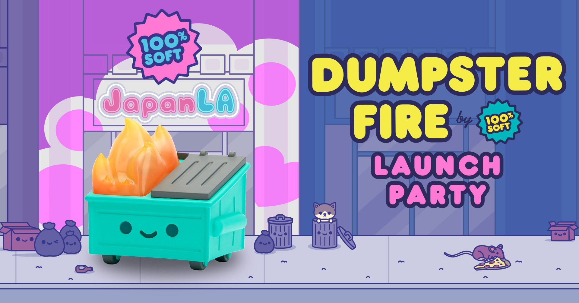 Dumpster Fire Launch Party at JapanLA!