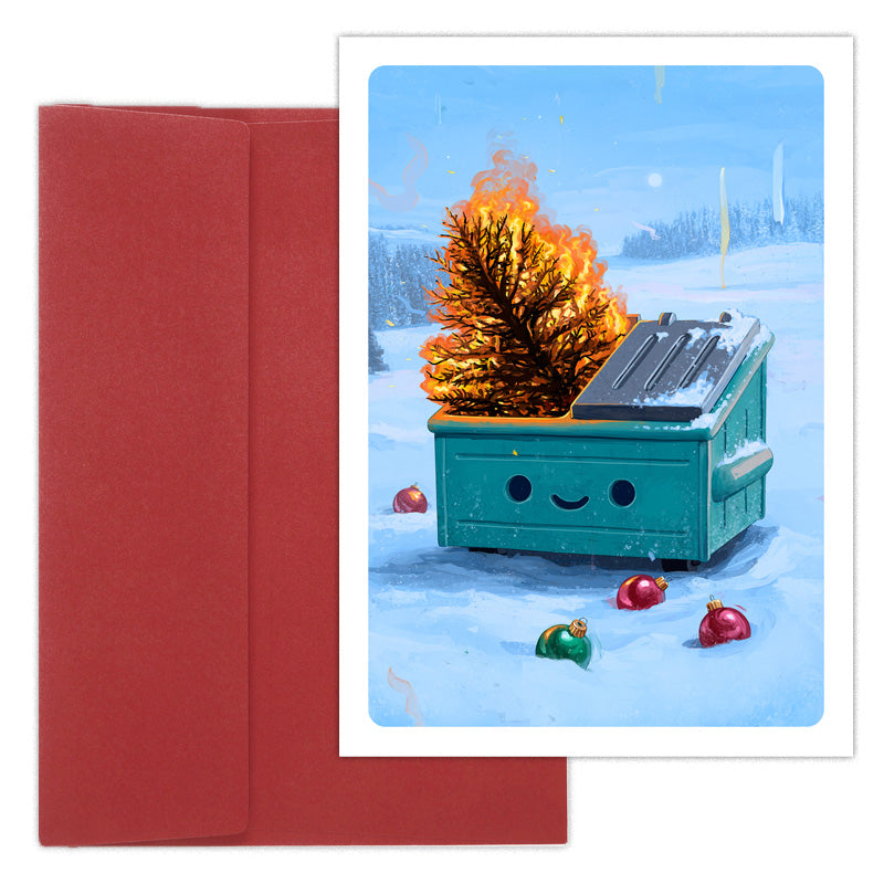 Dumpster Fire Holiday Inferno 10pk Card Pack