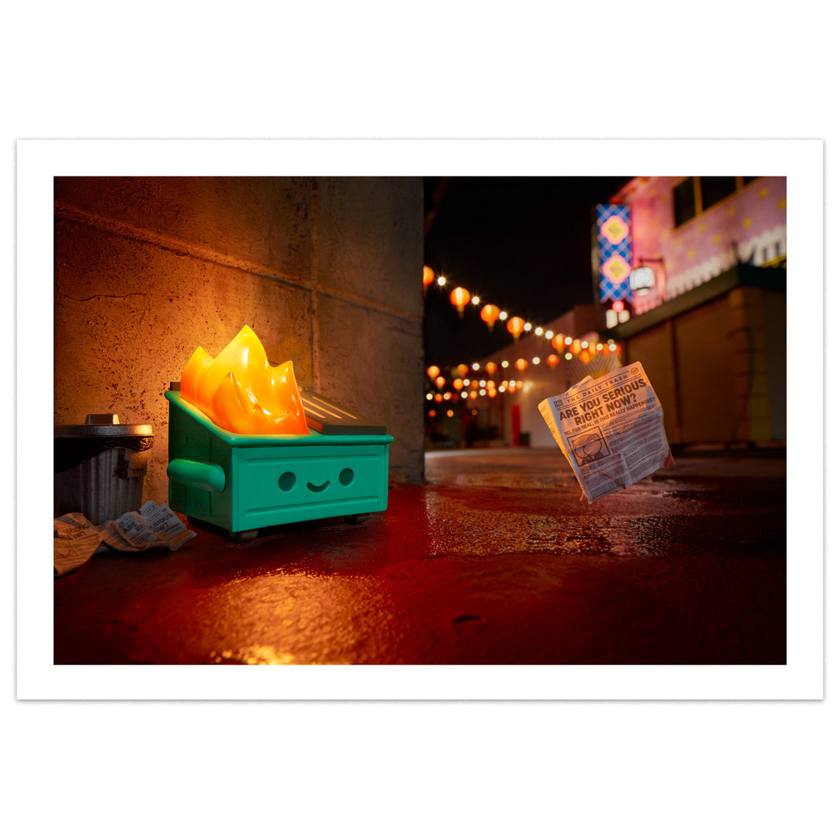 Dumpster Fire LE Photo Print by Brian McCarty