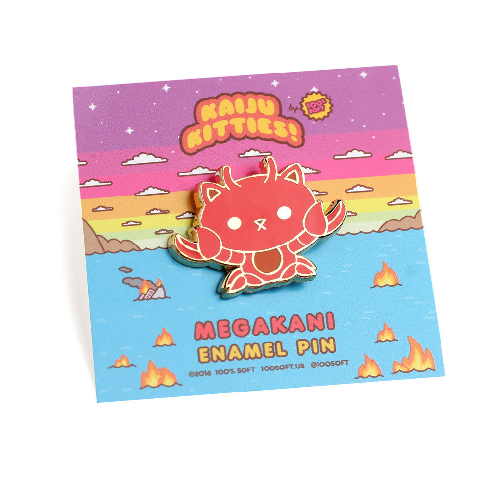 Megakani - Kaiju Kitties Enamel Pin
