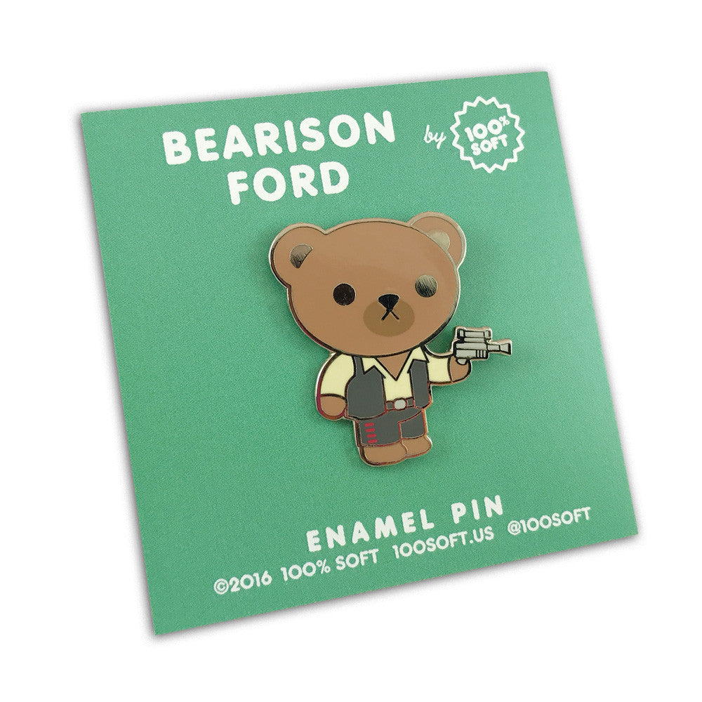 BEARison Ford - Bear Solo Enamel Pin