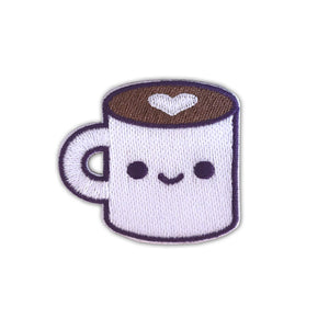 Coffee Luv Sticker Patch