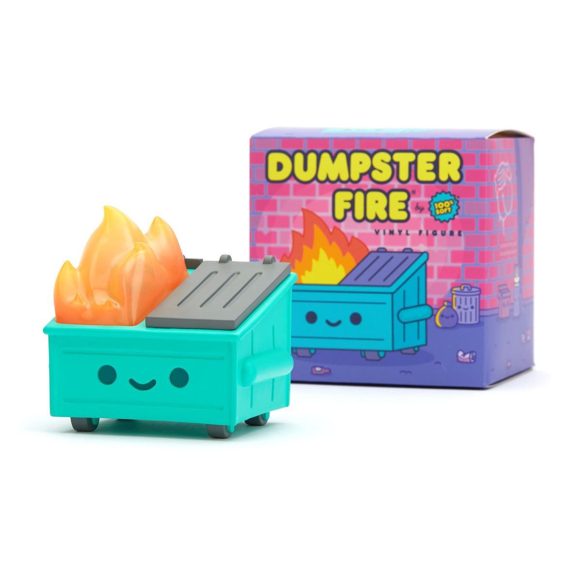 Dumpster Fire Vinyl Figure - SOLD OUT