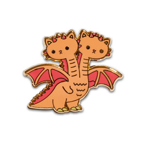 Kimbap & Gimbap - Kaiju Kitties Enamel Pin