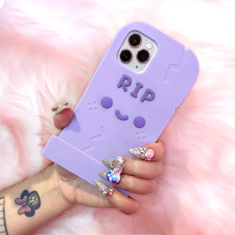 RIP iPhone 11 Pro Silicone Phone Case