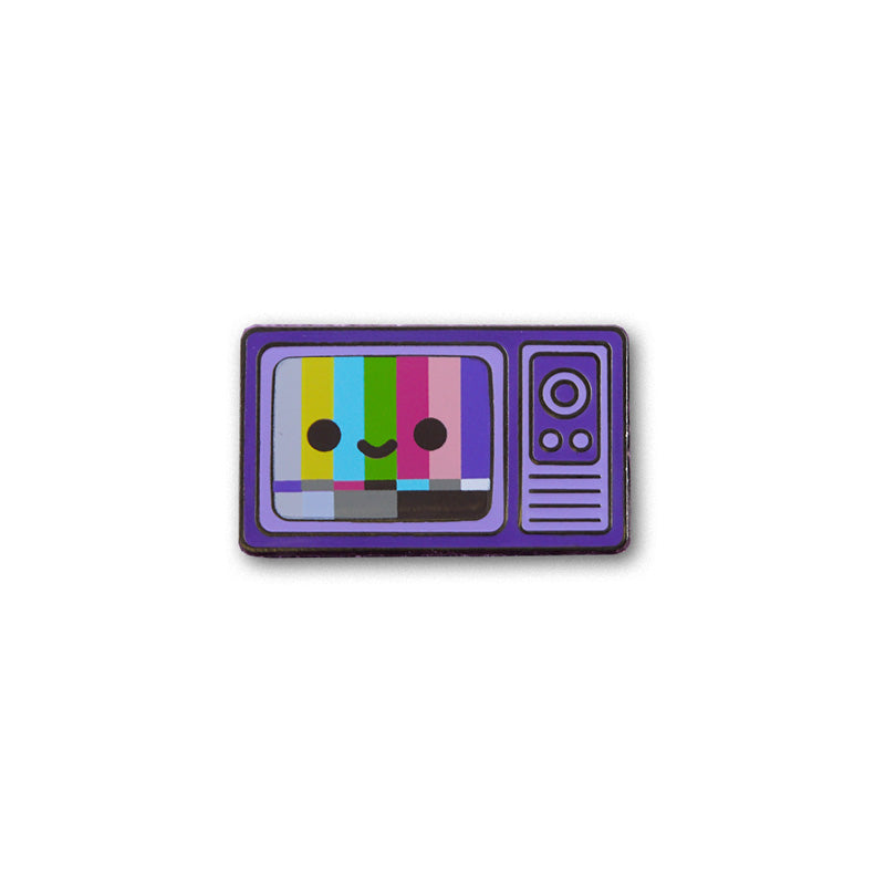 TV Color Bars Pin