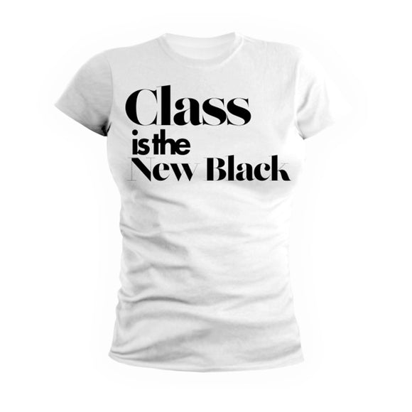Class Is The New Black Tee