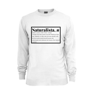"White ""Naturalista"" Sweatshirt"