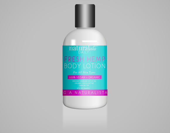 Fresh Hemp Body Lotion