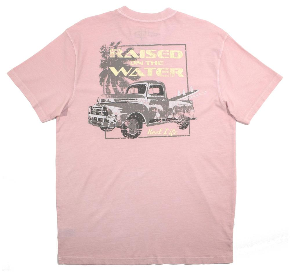 "Men's Ocean Washed Tee Short Sleeve ""Good Ole Truck Days"""