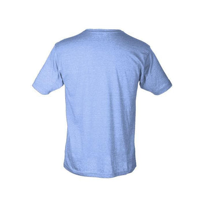 Men's Hammerhead Short Sleeve Fishing T-Shirt - Heather Blue