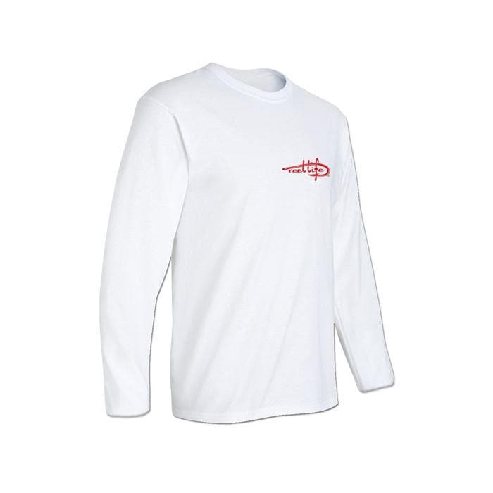 Men's 'Merica Long Sleeve Fishing Shirt - White