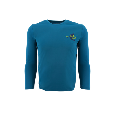 Reel Life Men's Long Sleeve UV  Rip Tide