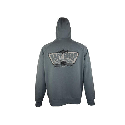 "Reel Life Men's Long Sleeve Fleece Hoodie ""Bait Shop"""