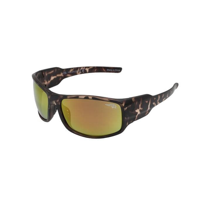 Boca 102P -  Polarized Copper Mirror Lens Sunglasses - Reel Life