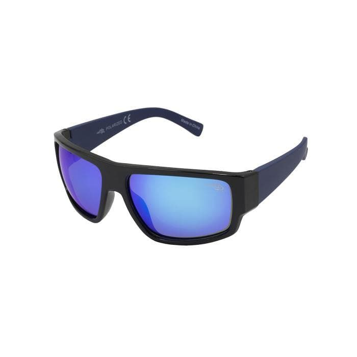 Captiva 105P -  Polarized Blue Mirror Lens Sunglasses - Reel Life