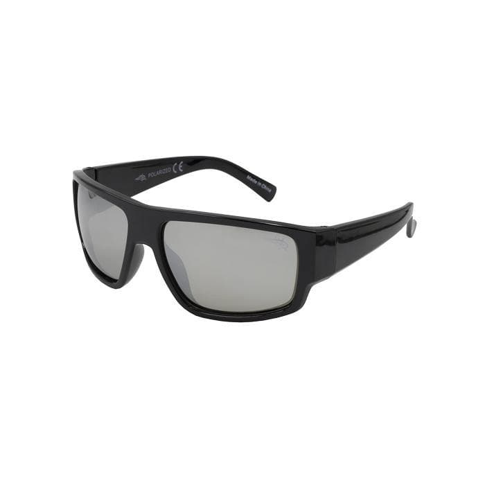 Captiva 204P -  Polarized Silver Mirror Lens Sunglasses - Reel Life