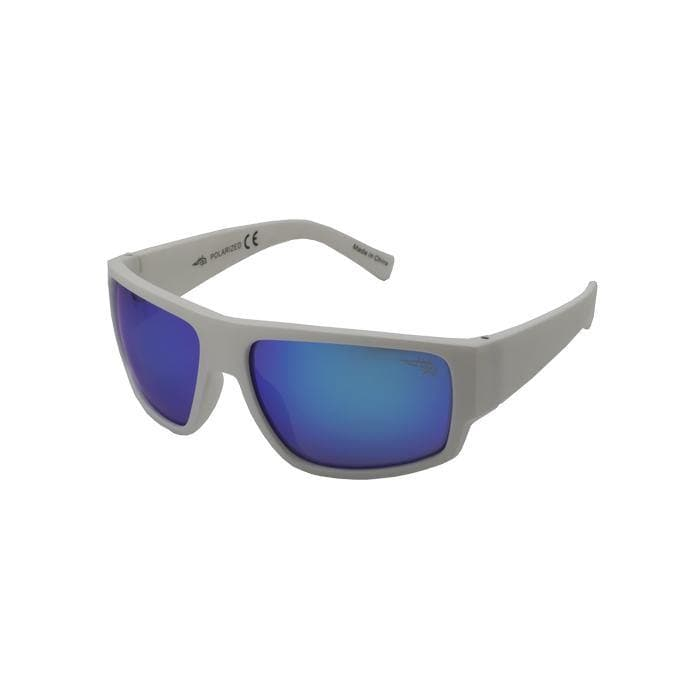 Boca 100P - Polarized Blue Mirror Lens Sunglasses - Reel Life