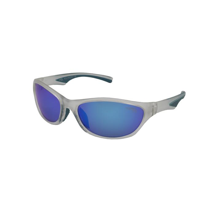 Wabassa 113P - Polarized Blue Mirror Lens Sunglasses