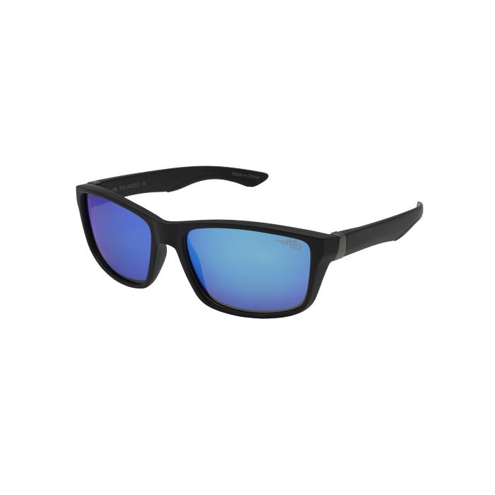Sanibel 104P - Polarized Blue Mirror Lens Sunglasses
