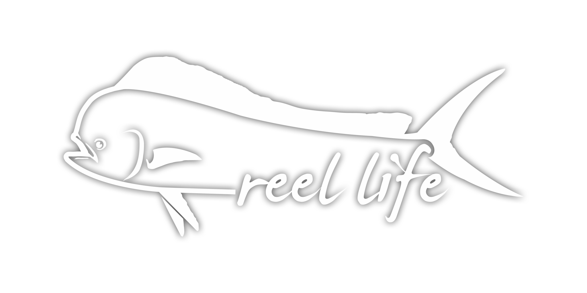 Dolphin Decal - 11 inches