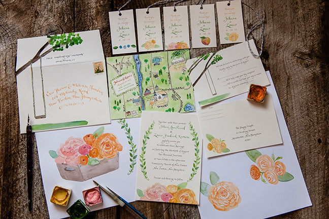 We want a Custom Invitation-What's the process?
