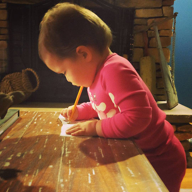 In Santa's Workshop-Letters and Cards from Santa
