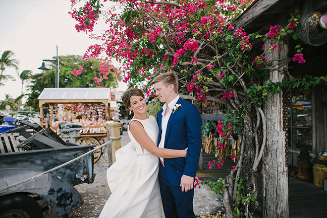 Fun Key West Wedding  with a Custom Map