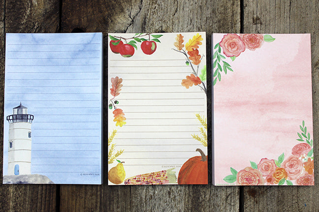 NEW Notepads just in time for fall!