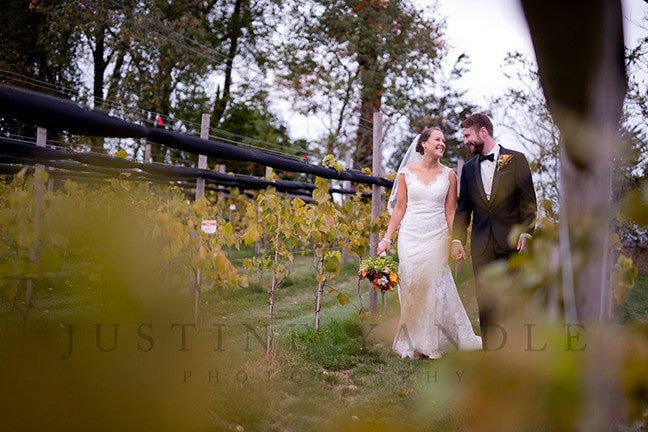 Autumn Leaves Wedding at Labelle Winery