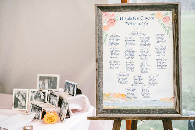 Why should you have a seating plan at your Wedding Reception?