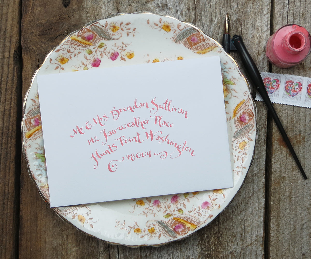 Annabelle calligraphy El's Cards
