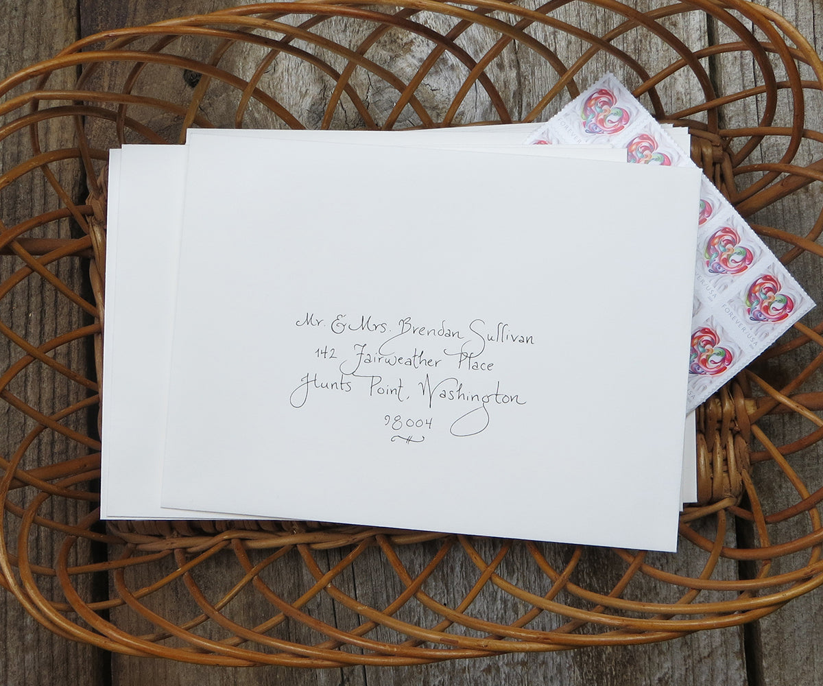 Carie calligraphy El's Cards