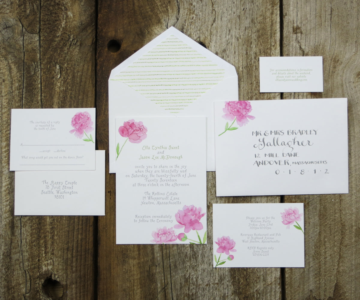 Wedding Etiquette Series Part 2 What pieces should be included
