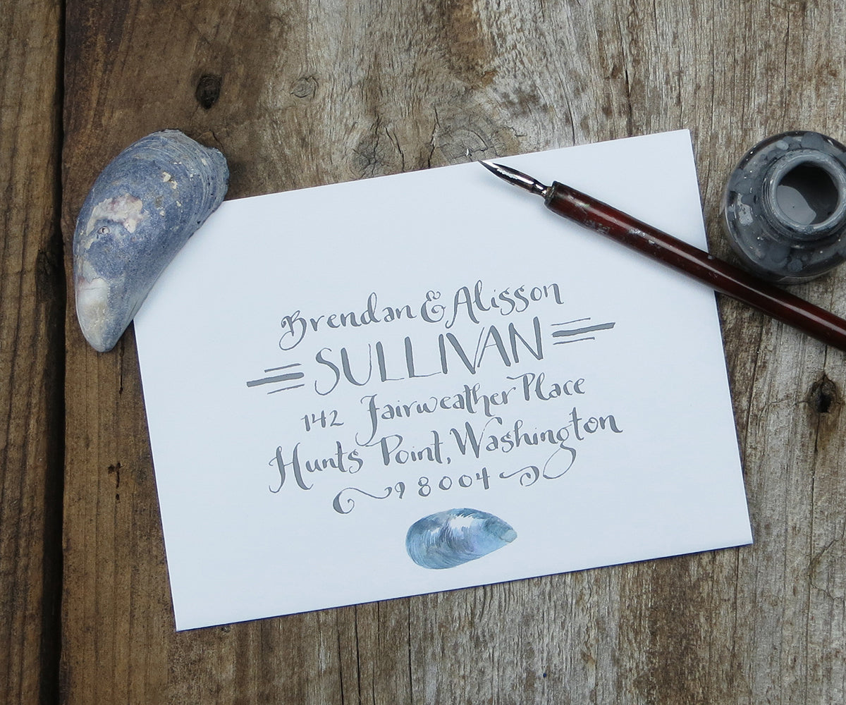 Laura calligraphy El's Cards