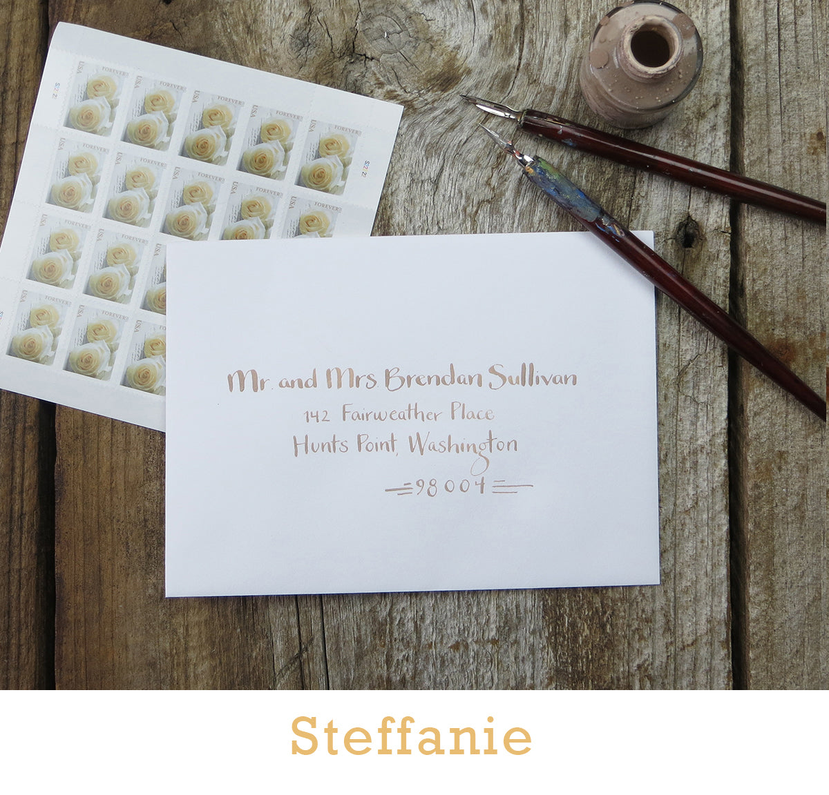Steffanie calligraphy El's Cards