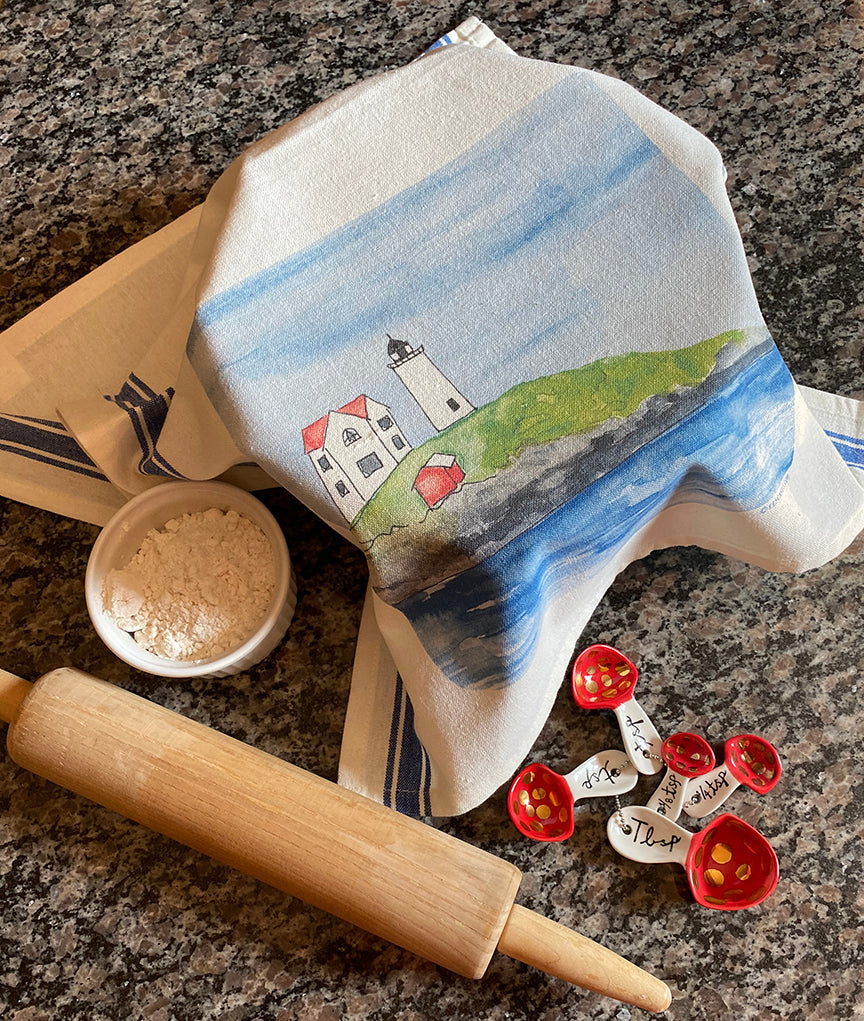 Nubble light tea towel