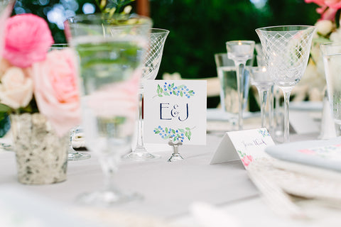 couple's table sign