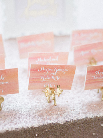 escort cards ombre