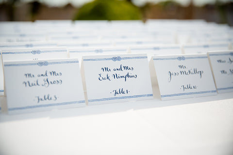 rope escort cards