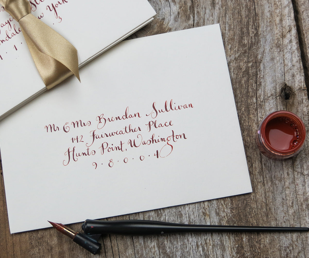 Jane calligraphy El's Cards