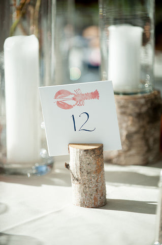 lobster table number