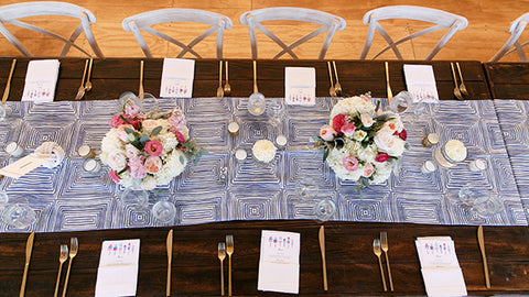 nautical wedding menus