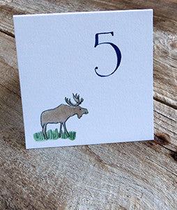 moose table number