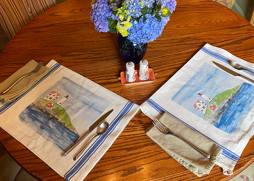 Nubble light tea towels