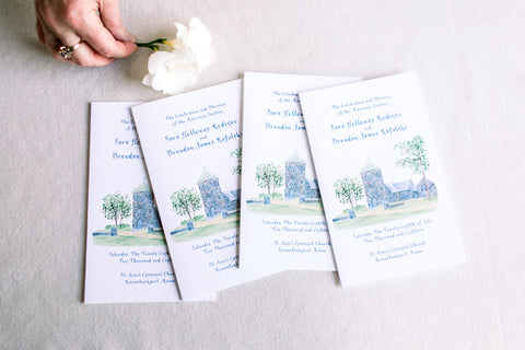 ceremony programs St. Ann's
